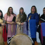Indigenous native American Indian ceremonies and performances